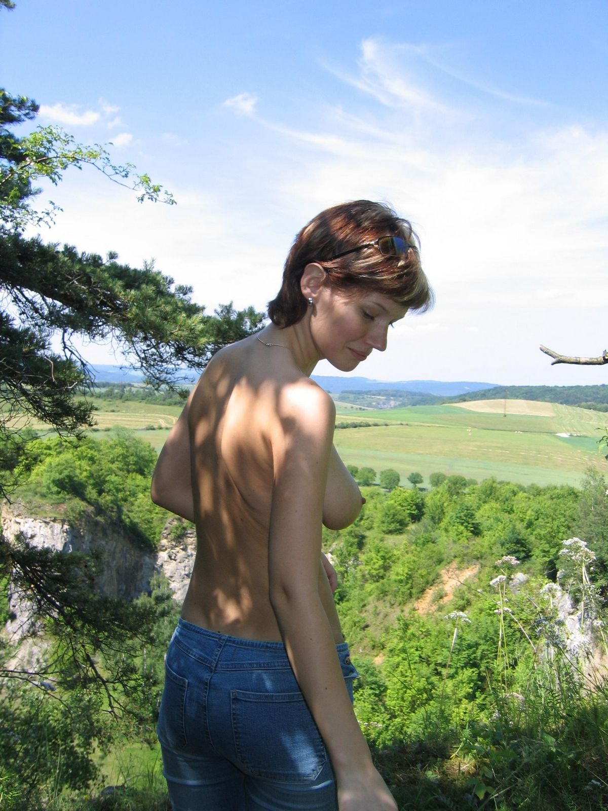 Молоденькая дама из Чехии с хорошими титьками