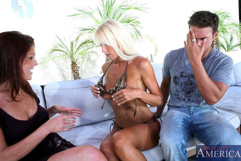 Bianca Noble и Shayne Ryder наслаждаются одним крупным хером
